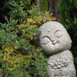 Statut en pierre et nature - Rituel de deuil