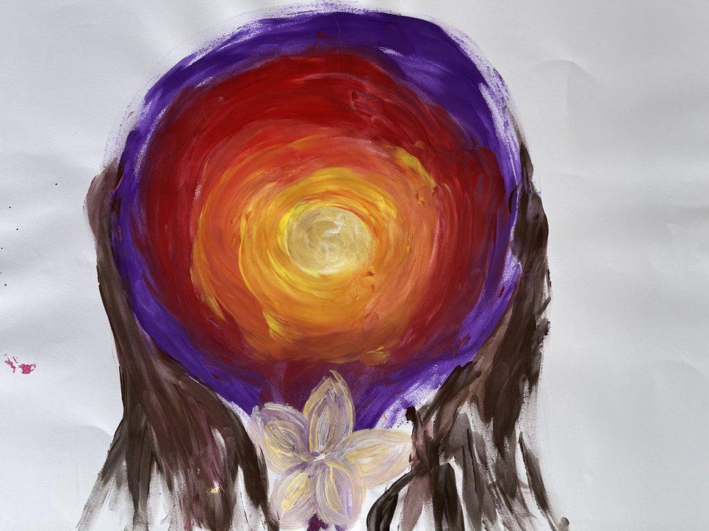 Peinture Utérus